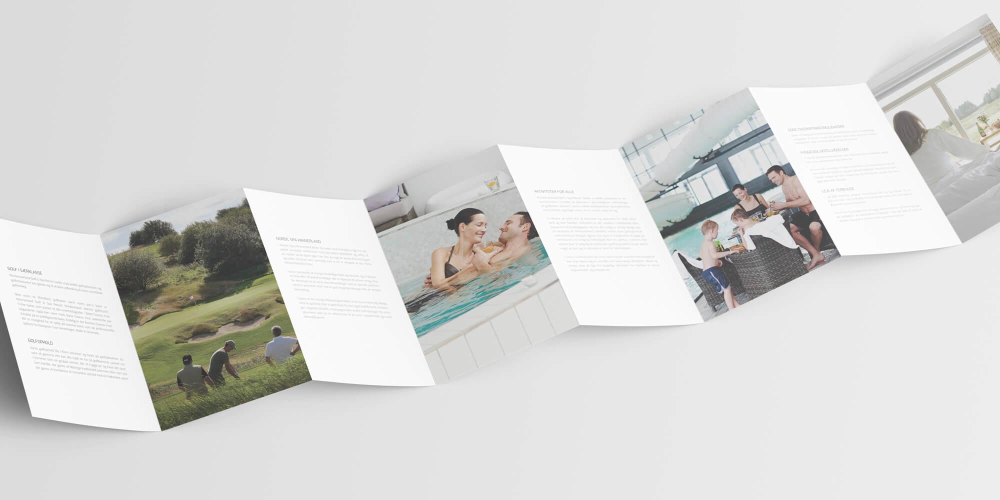 Case / Himmerland Golf & Spa Resort / Tryksager - folder