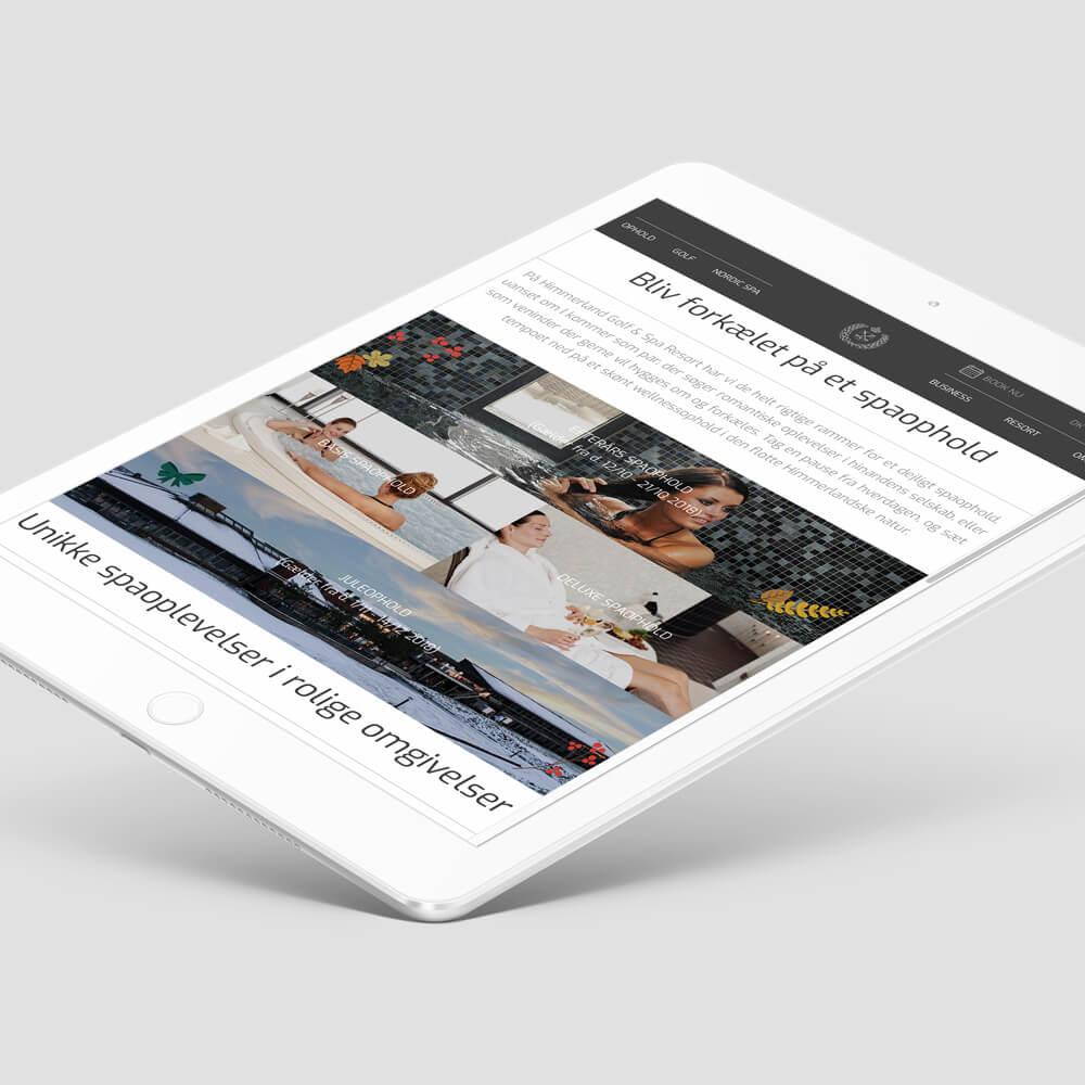 Case / Himmerland Golf & Spa Resort / Online markedsføring