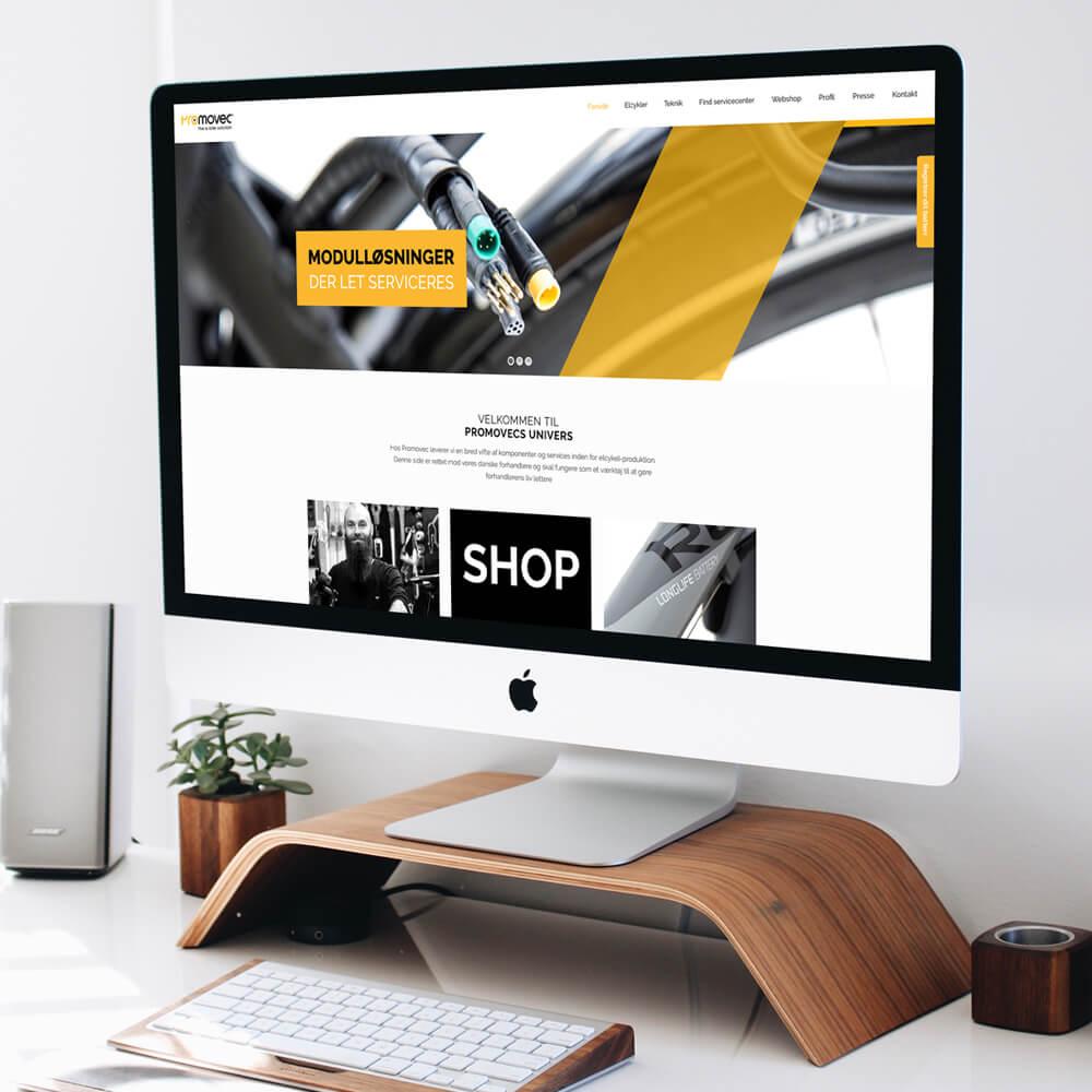 Case / Pro-Movec / Online markedsføring - hjemmeside
